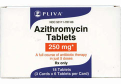 London fa level 2 courses of azithromycin