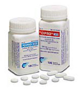 Cipro effective for strep